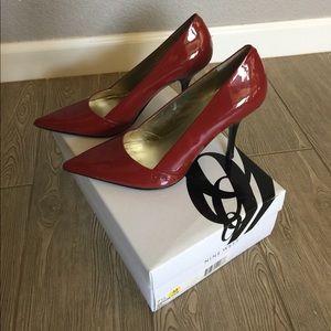 Nine West Red Heels size 7.5